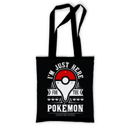 """Сумка с полной запечаткой """"POKEMON GO"""" - юмор, покемоны, pokemon go"""