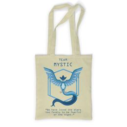 """Сумка с полной запечаткой """"Team Mystic"""" - мультфильм, pokemon, покемон, мистик, mystic"""