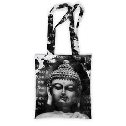 """Сумка с полной запечаткой """"Будда (Письмена)"""" - философия, buddha, будда, буддизм, духовность"""