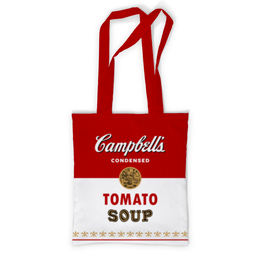"""Сумка с полной запечаткой """"Суп Кэмпбелл"""" - арт, поп арт, энди уорхол, суп кэмпбелл, campbells soup can"""