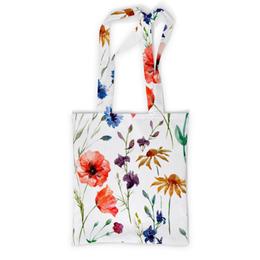 """Сумка с полной запечаткой """"Полевые цветы"""" - красиво, цветы, природа, полевые цветы"""