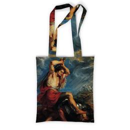 """Сумка с полной запечаткой """"Давид отрубает голову Голиафу (Картина Рубенса)"""" - картина, живопись, рубенс"""