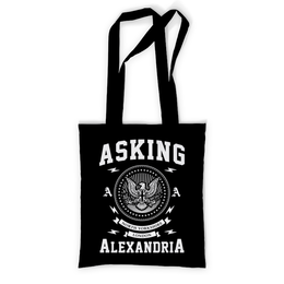"""Сумка с полной запечаткой """"Asking Alexandria"""" - музыка, рок, группы, asking alexandria, аскинг александриа"""
