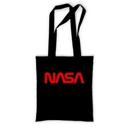 """Сумка с полной запечаткой """"NASA """" - космос, бренд, nasa, cosmos, астрономия"""