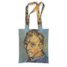 """Сумка с полной запечаткой """"Портрет художника без бороды (Винсент ван Гог)"""" - картина, ван гог, живопись"""