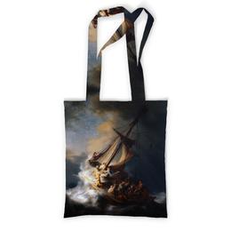"""Сумка с полной запечаткой """"Христос во время шторма на море Галилейском"""" - картина, живопись, иисус, рембрандт"""