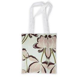 """Сумка с полной запечаткой """"Кофе с молоком"""" - цвести, красиво, лето, листья, цветы"""