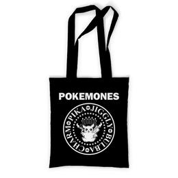 """Сумка с полной запечаткой """"Покемоны"""" - прикольные, покемон, покемоны, ramones, pokemon go"""