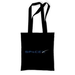 """Сумка с полной запечаткой """"SpaceX. Dragon"""" - космос, вселенная, thespaceway, spacex, маск"""