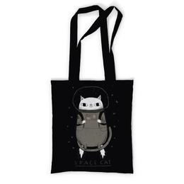 """Сумка с полной запечаткой """"Space cat"""" - кот, space, cat, космос, cosmic"""