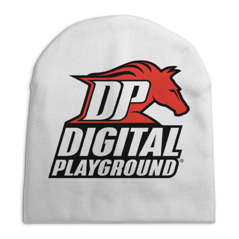 Шапка унисекс с полной запечаткой Printio Digital playground шапка унисекс с полной запечаткой printio digital playground