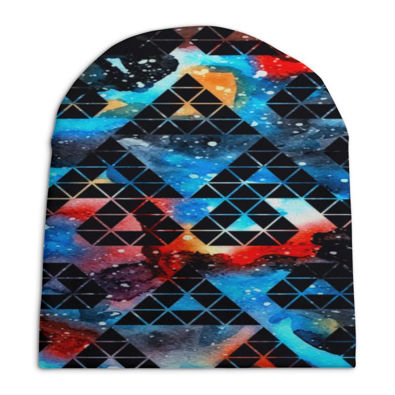Шапка унисекс с полной запечаткой Printio Орнамент шапка унисекс с полной запечаткой printio digital playground