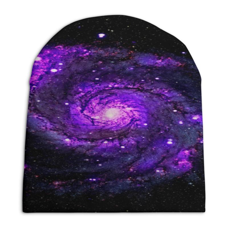Шапка унисекс с полной запечаткой Printio Галактика шапка унисекс с полной запечаткой printio надписи