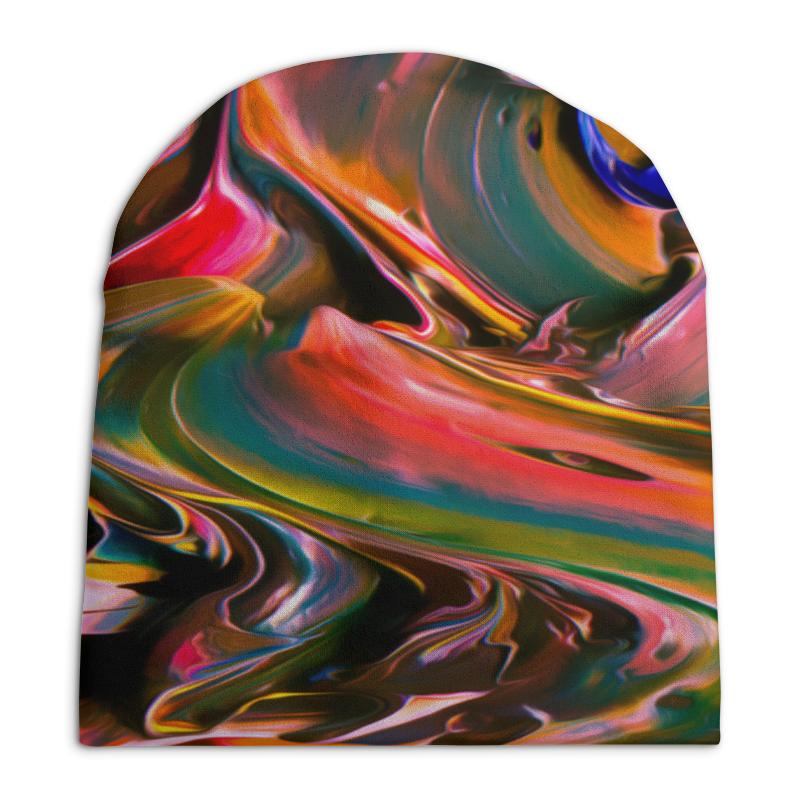 Шапка унисекс с полной запечаткой Printio Смесь красок шапка унисекс с полной запечаткой printio спиннер