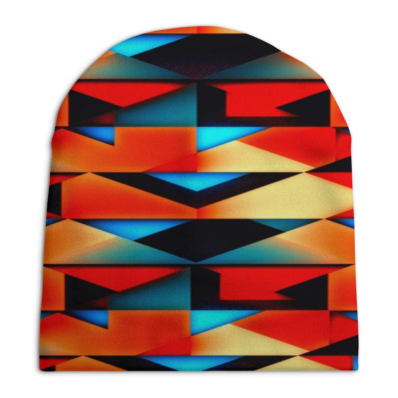 Шапка унисекс с полной запечаткой Printio Геометрические фигуры геометрические фигуры из гипса в донецке