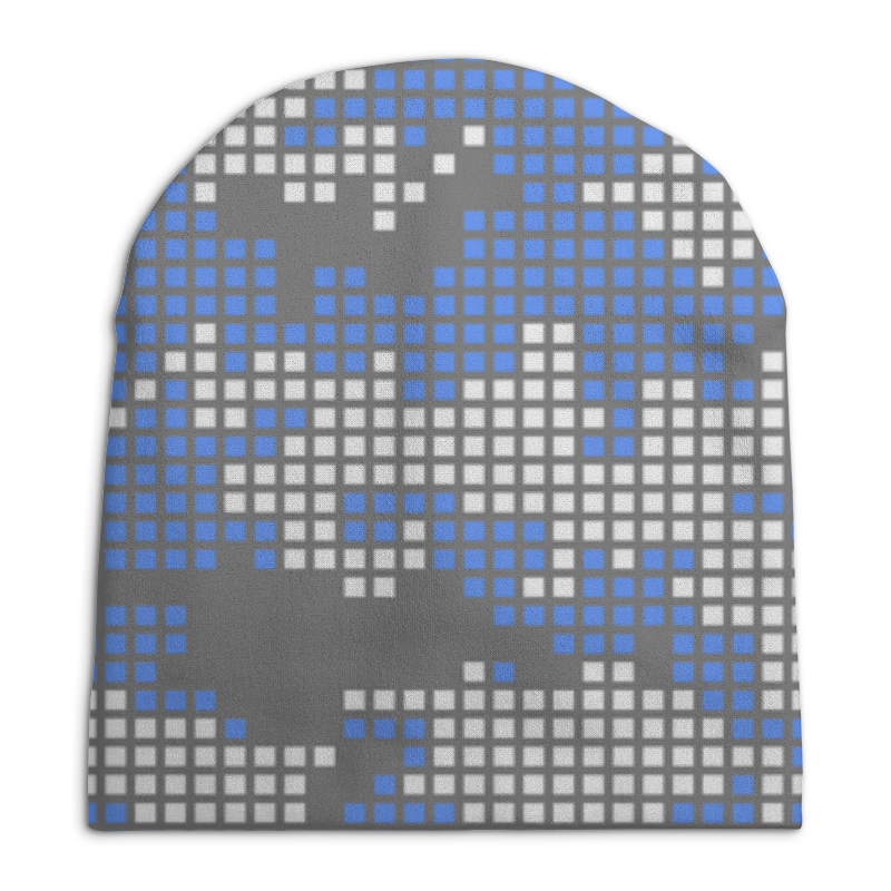 Фото - Шапка унисекс с полной запечаткой Printio Камуфляж свитшот унисекс с полной запечаткой printio алфавит