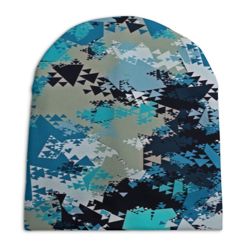 Шапка унисекс с полной запечаткой Printio Треугольники шапка унисекс с полной запечаткой printio боярыня морозова василий суриков
