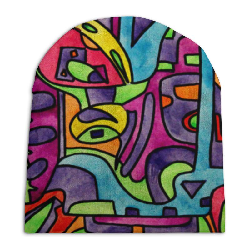 Шапка унисекс с полной запечаткой Printio Fp`pf-o[]80 футболка с полной запечаткой для девочек printio fp pf o[]80