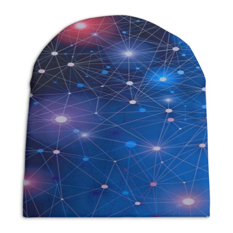 Шапка унисекс с полной запечаткой Printio Звезды шапка унисекс с полной запечаткой printio павел