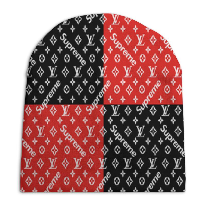 Фото - Шапка унисекс с полной запечаткой Printio Supreme свитшот унисекс с полной запечаткой printio алфавит