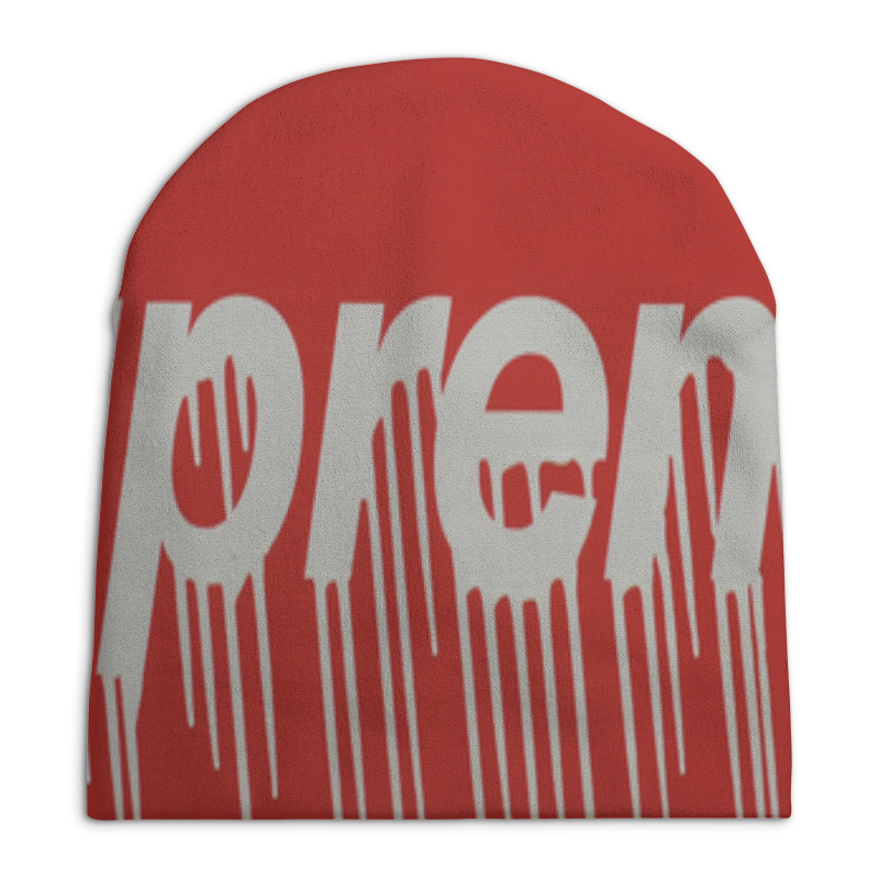 Шапка унисекс с полной запечаткой Printio Шапка supreme tenson шапка