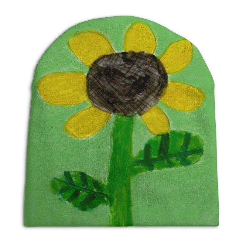 Шапка унисекс с полной запечаткой Printio Подсолнух игрушка брелок plants vs zombies подсолнух