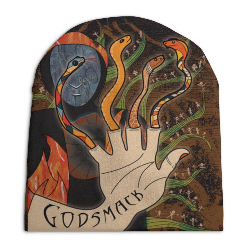 Шапка унисекс с полной запечаткой Printio Бомбер godsmack godsmack köln