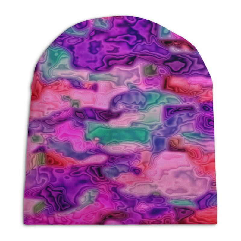 Шапка унисекс с полной запечаткой Printio Неоновые краски шапка унисекс с полной запечаткой printio спиннер