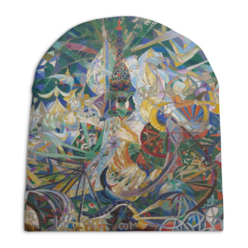 Шапка унисекс с полной запечаткой Printio Битва огней, кони-айленд (джозеф стелла)