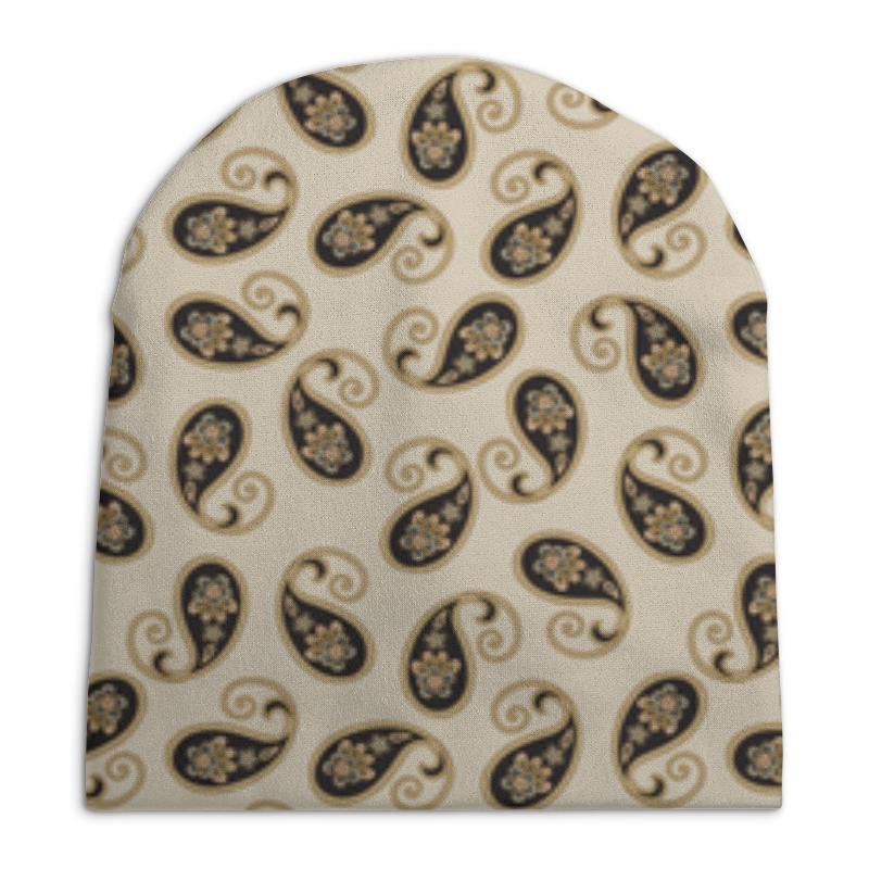 Шапка унисекс с полной запечаткой Printio Пейсли (классика) платье летнее printio пейсли