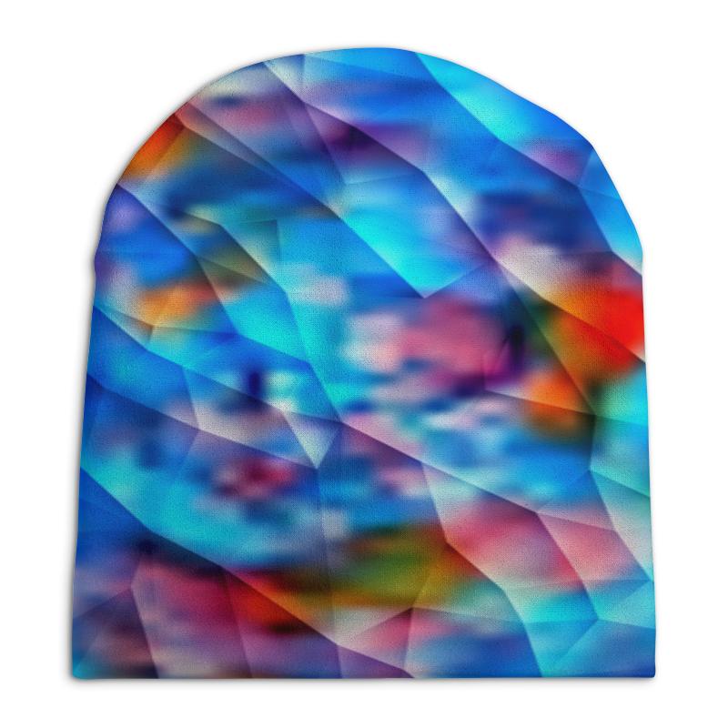 Шапка унисекс с полной запечаткой Printio Красочный узор шапка унисекс с полной запечаткой printio геометрический узор