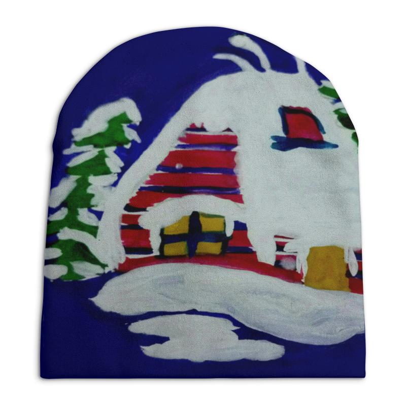 Шапка унисекс с полной запечаткой Printio Дом в лесу хохловка дом с участком