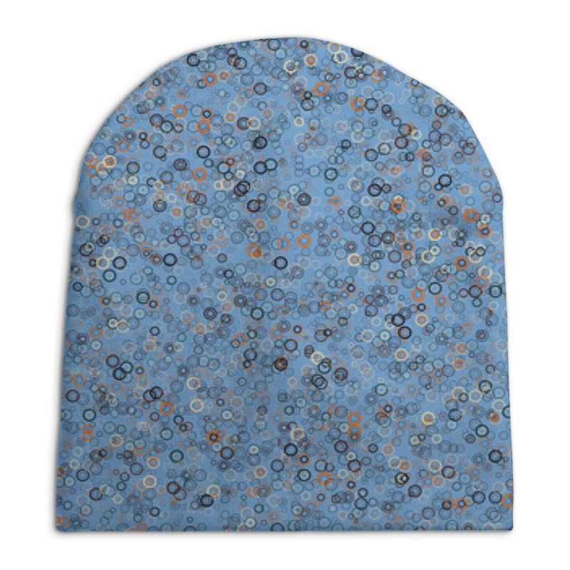Printio Круги шапка унисекс с полной запечаткой printio круги