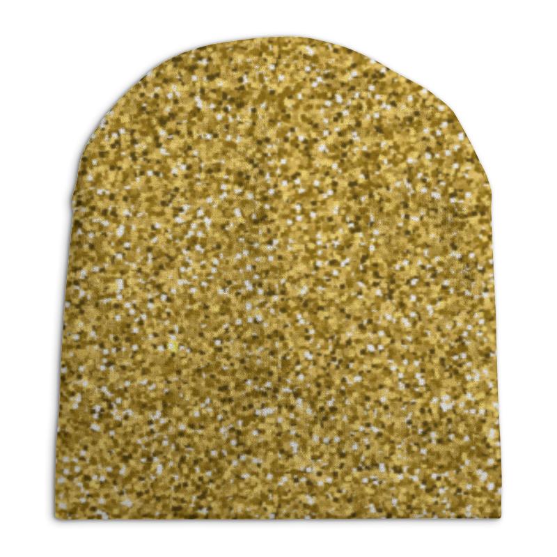 Шапка унисекс с полной запечаткой Printio Золотой блеск шапка унисекс с полной запечаткой printio спиннер