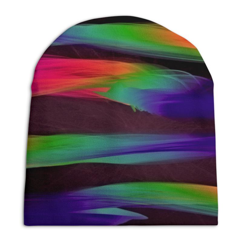 Шапка унисекс с полной запечаткой Printio Краски шапка унисекс с полной запечаткой printio боярыня морозова василий суриков