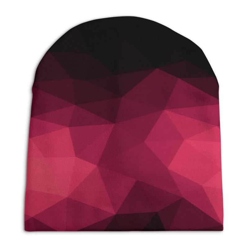 Шапка унисекс с полной запечаткой Printio Розовая абстракция шапка унисекс с полной запечаткой printio сад земных наслаждений