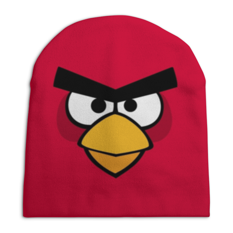 Шапка унисекс с полной запечаткой Printio Angry birds
