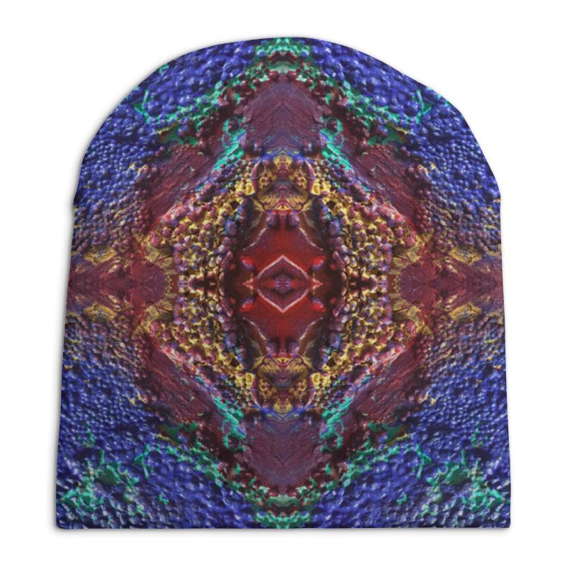 Шапка унисекс с полной запечаткой Printio Third eye stylish trees landscape oil painting pattern square shape flax pillowcase without pillow inner
