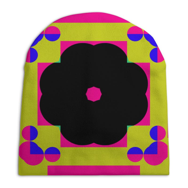 Шапка унисекс с полной запечаткой Printio Графическая абстракция