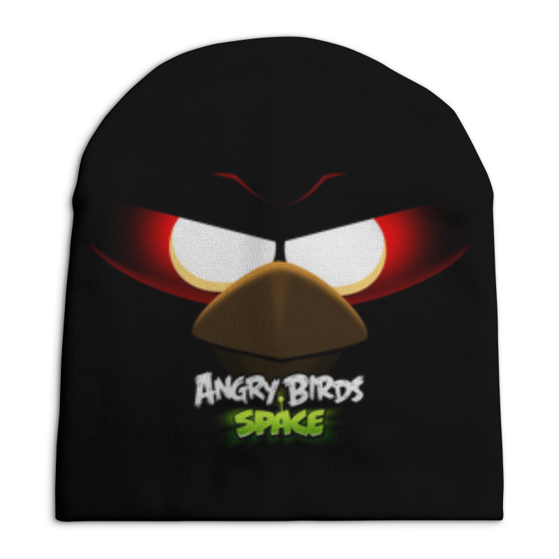 Шапка унисекс с полной запечаткой Printio Space (angry birds) фартук с полной запечаткой printio space angry birds