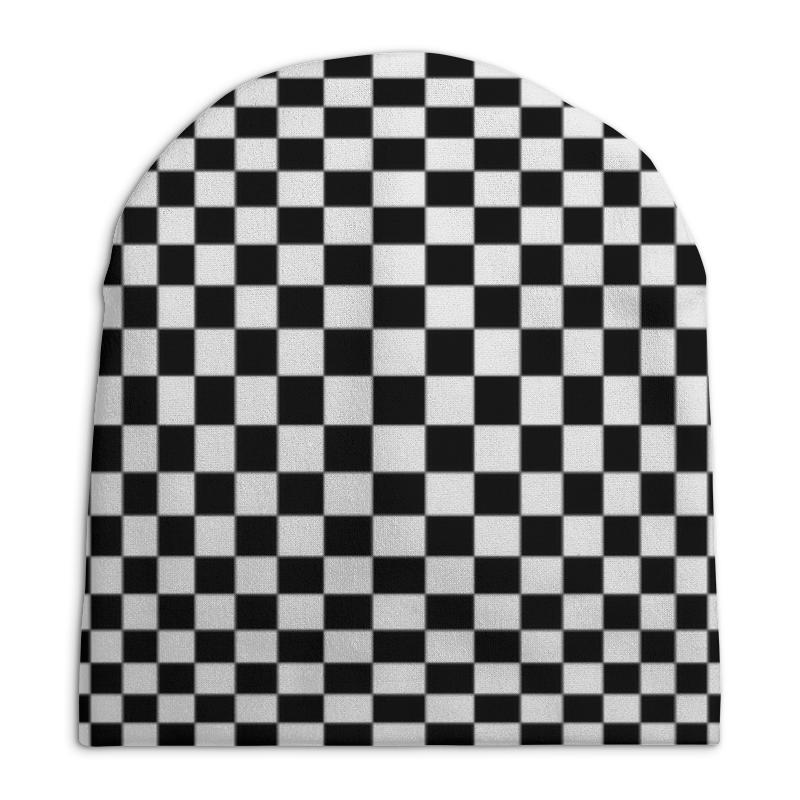 Шапка унисекс с полной запечаткой Printio Иллюзия опасная иллюзия