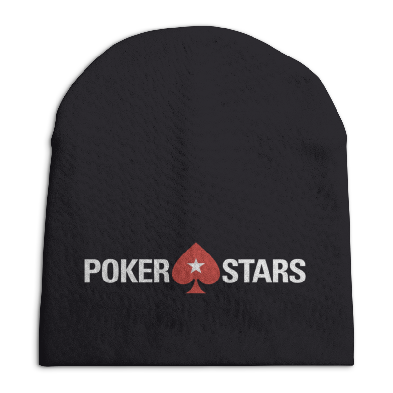 Шапка унисекс с полной запечаткой Printio Pokerstars шапка унисекс с полной запечаткой printio borussia dortmund