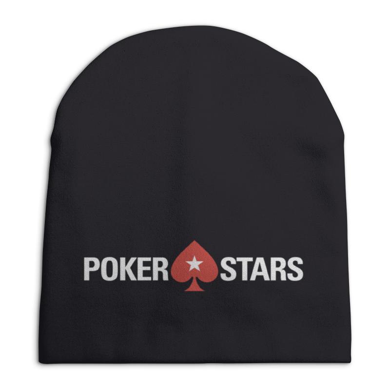 Шапка унисекс с полной запечаткой Printio Pokerstars шапка унисекс с полной запечаткой printio надписи