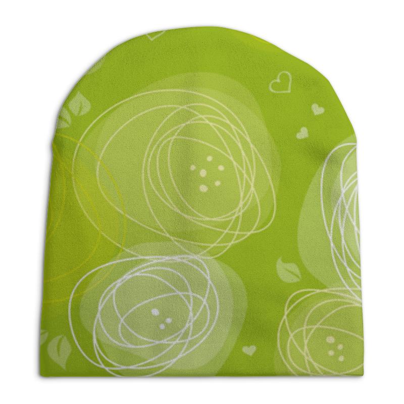 Шапка унисекс с полной запечаткой Printio Летняя абстракция
