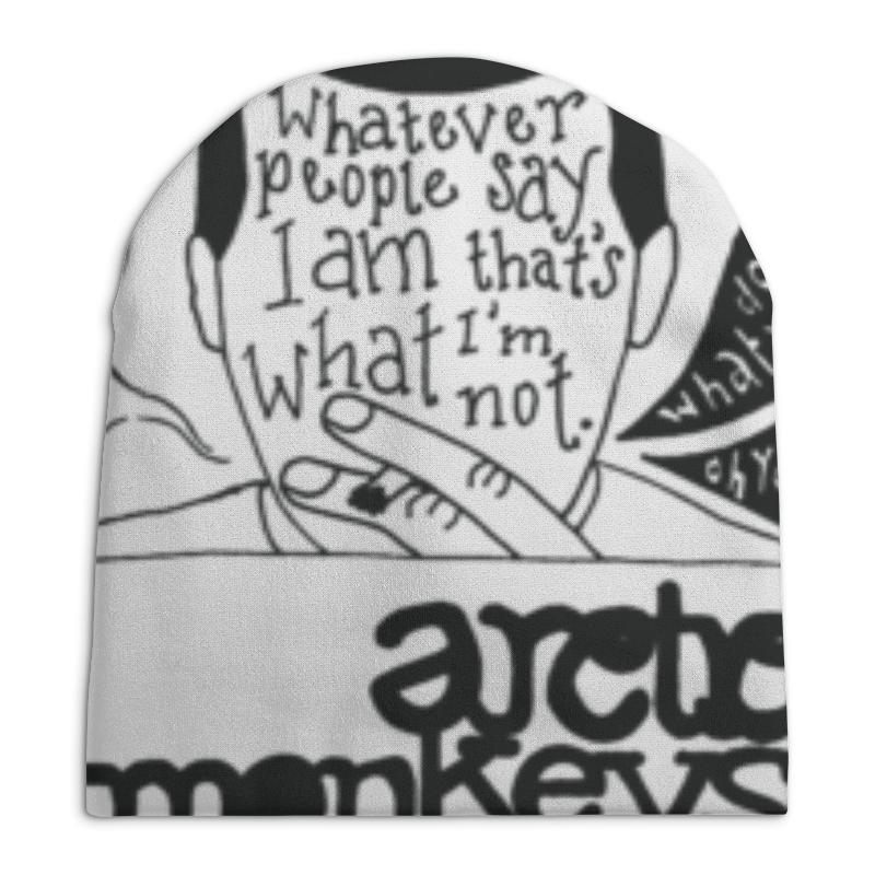 Шапка унисекс с полной запечаткой Printio Arctic monkeys arctic monkeys am