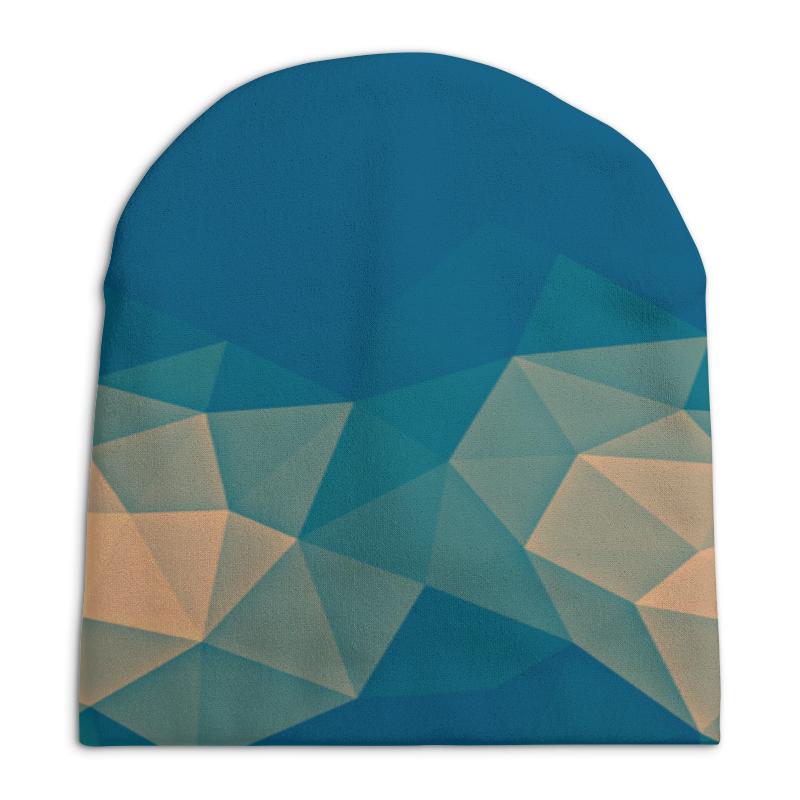 Шапка унисекс с полной запечаткой Printio Абстракция шапка унисекс с полной запечаткой printio город