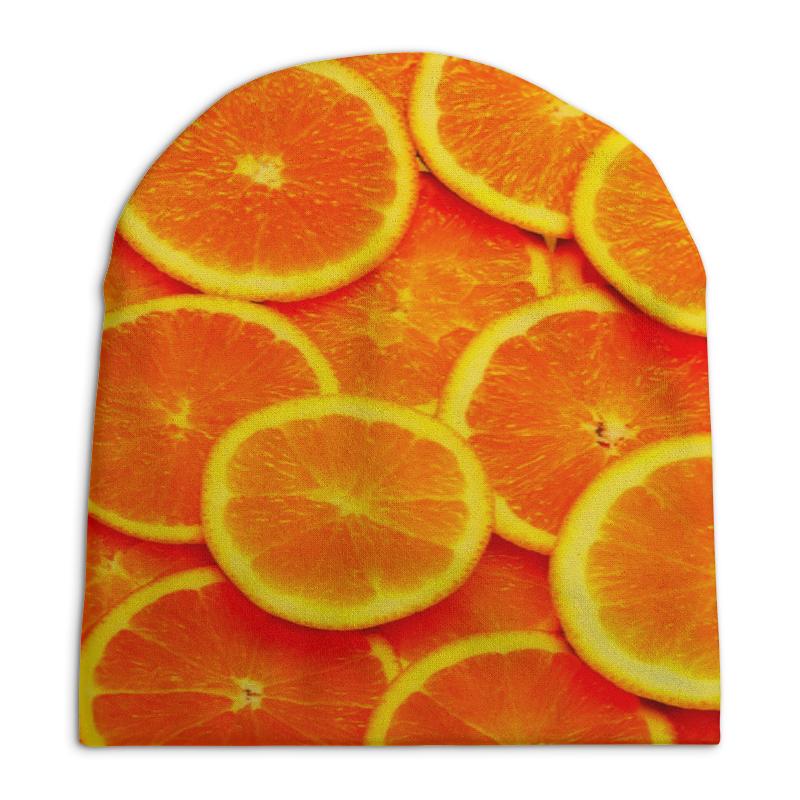 Шапка унисекс с полной запечаткой Printio Апельсины шапка унисекс с полной запечаткой printio чайка