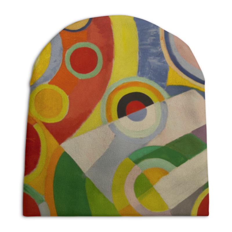 Шапка унисекс с полной запечаткой Printio Ритм, радость жизни (картина делоне) цена