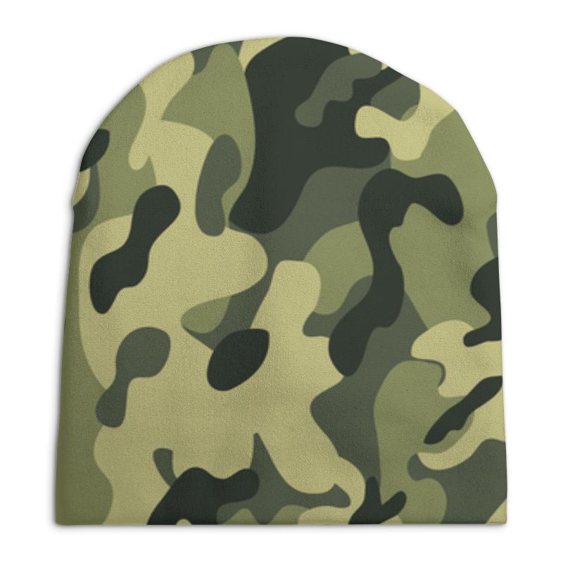 Фото - Шапка унисекс с полной запечаткой Printio Камуфляж шапка унисекс с полной запечаткой printio денис