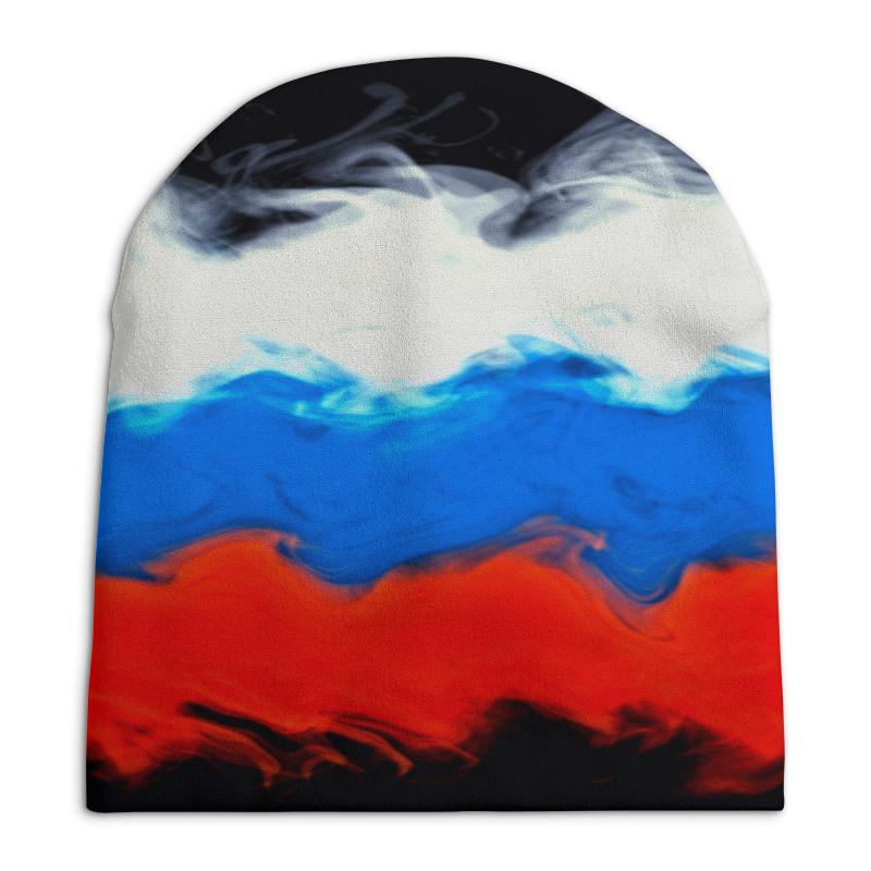 Шапка унисекс с полной запечаткой Printio Русский шапка унисекс с полной запечаткой printio цветочный рай